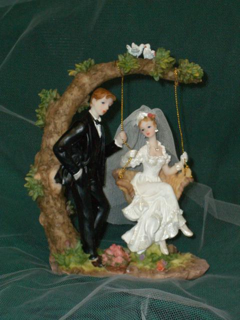 Brautpaar auf Schaukel (#62)